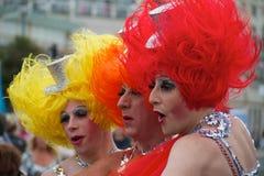 гордость 2010 brighton Стоковые Фотографии RF