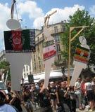 гордость 2010 paris ecmp голубая Стоковое Изображение RF