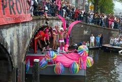гордость 2011 голубого парада канала стоковые изображения