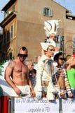 гордость rome парада евро 2011 Стоковое Фото