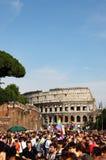 гордость rome парада евро 2011 Стоковые Изображения