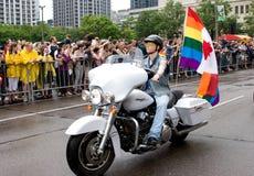 гордость toronto парада Стоковое Изображение