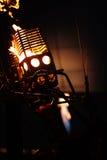 горелка воздушного шара горячая Стоковое фото RF