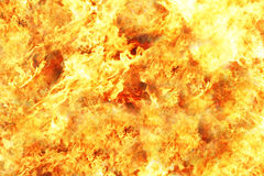 Горение пожара Стоковое Фото