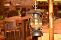 Горение фонарика масла Стоковое фото RF
