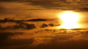 Гореть небеса Стоковое фото RF
