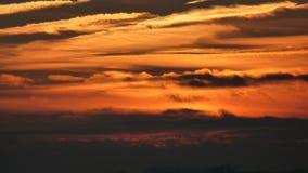 Гореть небеса Стоковое Изображение RF