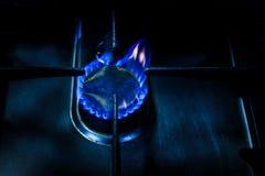 гореть пламен Стоковое Изображение RF