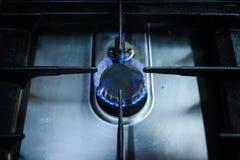 гореть пламен Стоковая Фотография