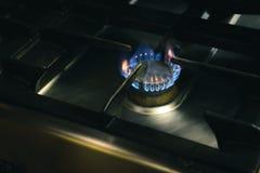 гореть пламен Стоковые Фотографии RF