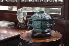 Горелка ладана династии Ming Стоковые Фотографии RF
