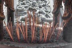 Горелка ладана на Китае Стоковое Изображение