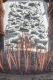 Горелка ладана на Китае Стоковое фото RF