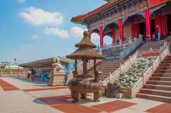 Горелка ладана на Китае Стоковые Изображения