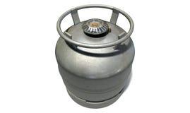 Горелка Stovetop газового баллона Стоковое фото RF