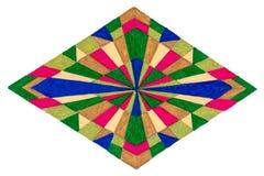 Горизонтальная иллюстрация диаманта Стоковое Изображение