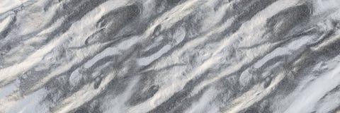 горизонтальная серебряная текстура для картины и предпосылки Стоковая Фотография RF