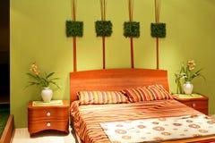 горизонтальная спальни флористическая Стоковые Изображения