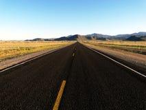 горизонтальная дорога вакантная Стоковое Фото