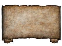 горизонтальное manuscript1 Стоковые Изображения