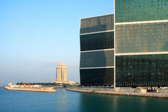 горизонтальные башни гостиницы Стоковая Фотография