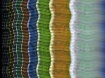 Горизонтальные волны цвета Стоковая Фотография