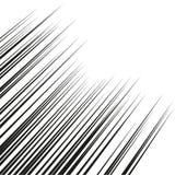 Горизонтальные линии скорости для комиков Прямые, параллельные линии резюмируют геометрическую текстуру, Monochrome линии картину иллюстрация вектора