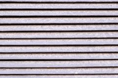 Горизонтальные нашивки экстерьера jalousie металла Предпосылка, текстура стоковое фото