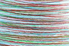 Горизонтальные прямые нарисованные в карандаше в других цветах иллюстрация вектора