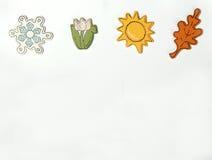 горизонтальные сезоны Стоковое Фото