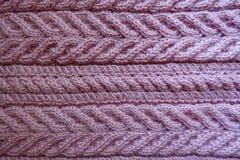 Горизонтальные pleats на ткани связанной пинком стоковые изображения