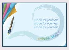 горизонтальный бумажный лист Стоковая Фотография RF