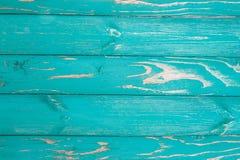 Горизонтальная абстрактная предпосылка с синью покрасила доски постаретый к время, загородка стоковая фотография rf