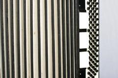 Горизонтальная аккордеона абстрактная стоковое изображение rf