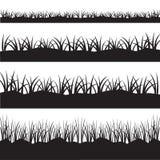 Горизонтальная безшовная трава Стоковое Фото