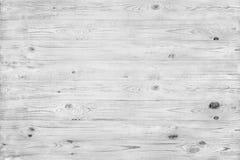 Горизонтальная светлая деревянная текстура в сером цвете Стоковая Фотография