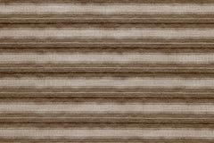 Горизонтальная текстура striped цвета коричневого цвета ткани Стоковые Фото