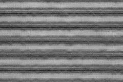 Горизонтальная текстура striped цвета серого цвета ткани Стоковые Изображения