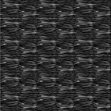 Горизонтальные белые линии на черной предпосылке Стоковое Изображение RF