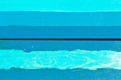Горизонтальные голубые доски Стоковая Фотография RF