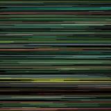 Горизонтальные покрашенные линии на черной предпосылке Стоковое фото RF