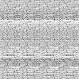 Горизонтальные черные линии и малые квадраты Стоковое фото RF