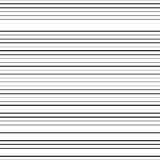 Горизонтальные черные линии Стоковая Фотография RF