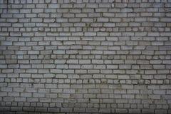 Горизонтальный кирпич света стены предпосылки текстуры Стоковая Фотография