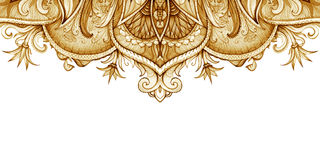 Горизонтальный шаблон знамени сбор винограда милой иллюстрации птиц установленный Стоковые Фото