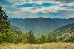 Горизонты горы Стоковое Фото