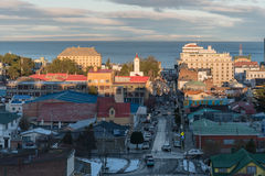 Горизонт арен Punta в Чили стоковое фото