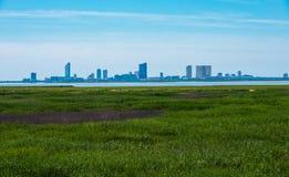 Горизонт Атлантик-Сити Стоковое Изображение RF
