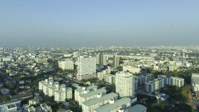 Горизонт Бангкока от взгляда глаза птицы дальше стоковые изображения rf