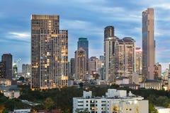 Горизонт Бангкока современный Стоковое фото RF